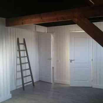 Restauratie zolderverdieping